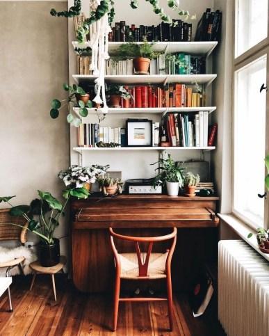 Simple Desk Workspace Design Ideas 27