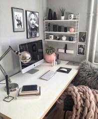 Simple Desk Workspace Design Ideas 34