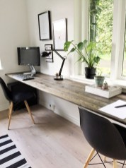 Simple Desk Workspace Design Ideas 35