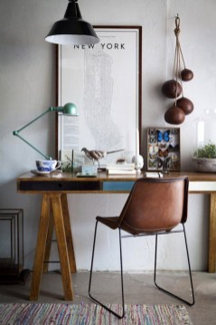 Simple Desk Workspace Design Ideas 36