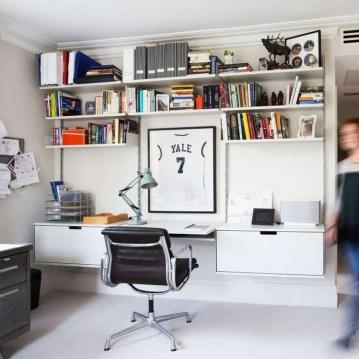 Simple Desk Workspace Design Ideas 37