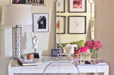 Simple Desk Workspace Design Ideas 41
