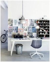 Simple Desk Workspace Design Ideas 43