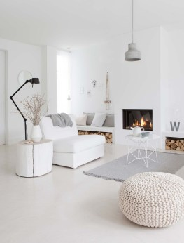 Wonderful Scandinavian Livingroom Decorations Ideas16