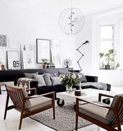 Wonderful Scandinavian Livingroom Decorations Ideas26