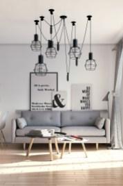 Wonderful Scandinavian Livingroom Decorations Ideas27