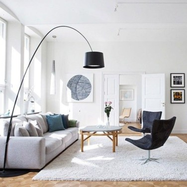 Wonderful Scandinavian Livingroom Decorations Ideas32