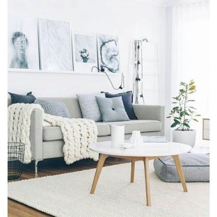 Wonderful Scandinavian Livingroom Decorations Ideas35