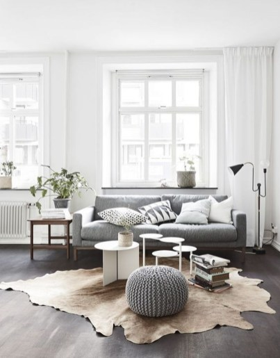 Wonderful Scandinavian Livingroom Decorations Ideas36