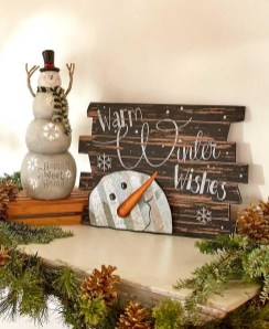 Amazing Farmhouse Winter Decoration Ideas29
