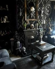 Attractive Diy Halloween Living Room Decoration Ideas01