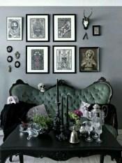 Attractive Diy Halloween Living Room Decoration Ideas14