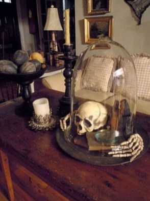 Attractive Diy Halloween Living Room Decoration Ideas26