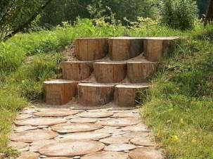 Awesome Diy Garden Path Inspiration Ideas08