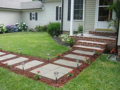 Awesome Diy Garden Path Inspiration Ideas13