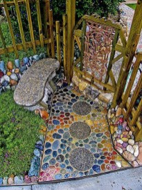 Awesome Diy Garden Path Inspiration Ideas28