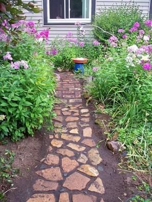 Awesome Diy Garden Path Inspiration Ideas31