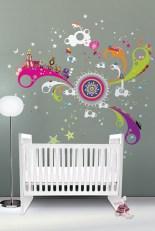 Charming Wall Sticker Babys Room Ideas02