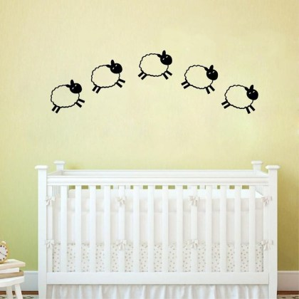 Charming Wall Sticker Babys Room Ideas06