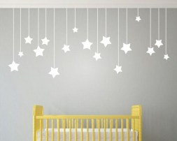Charming Wall Sticker Babys Room Ideas13