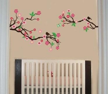 Charming Wall Sticker Babys Room Ideas18