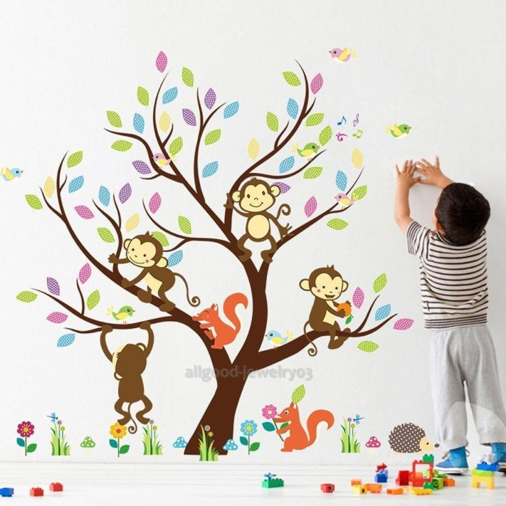 Charming Wall Sticker Babys Room Ideas21