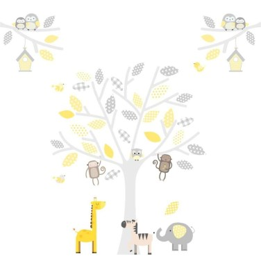 Charming Wall Sticker Babys Room Ideas22