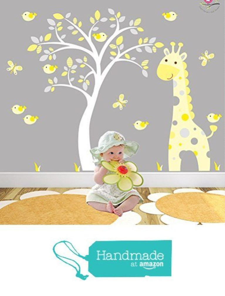 Charming Wall Sticker Babys Room Ideas28