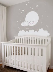 Charming Wall Sticker Babys Room Ideas31