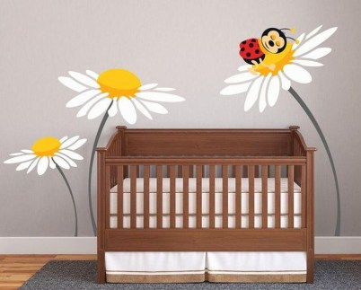 Charming Wall Sticker Babys Room Ideas36