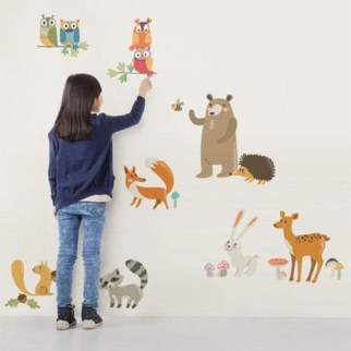 Charming Wall Sticker Babys Room Ideas39