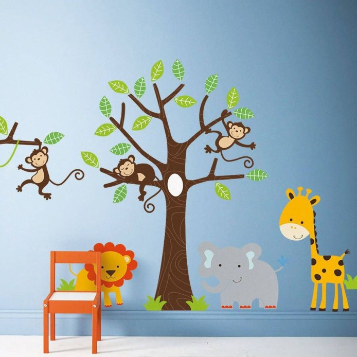 Charming Wall Sticker Babys Room Ideas47