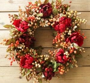 Cheap Iy Fall Wreaths Ideas03
