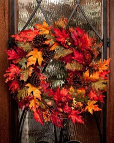 Cheap Iy Fall Wreaths Ideas05