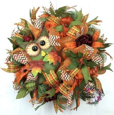 Cheap Iy Fall Wreaths Ideas07