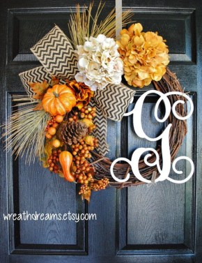 Cheap Iy Fall Wreaths Ideas14