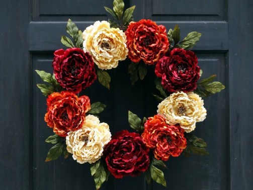 Cheap Iy Fall Wreaths Ideas15