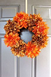 Cheap Iy Fall Wreaths Ideas26