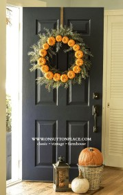 Cheap Iy Fall Wreaths Ideas45