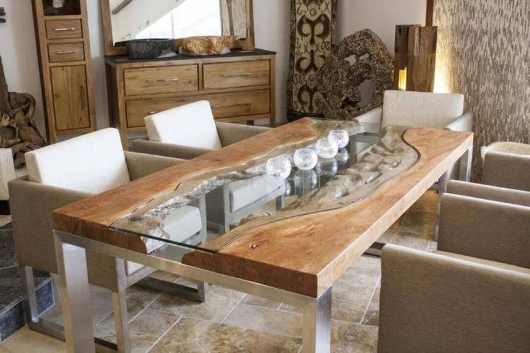 Creative Wooden Dining Tables Design Ideas12