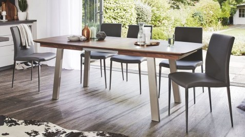 Creative Wooden Dining Tables Design Ideas38