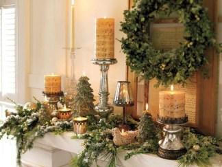 Fantastic Winter Mantle Decoration Ideas02