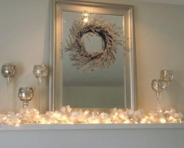 Fantastic Winter Mantle Decoration Ideas16