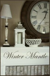 Fantastic Winter Mantle Decoration Ideas26