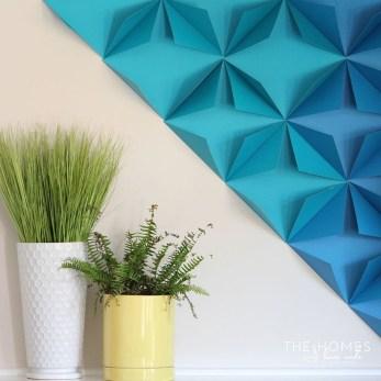 Gorgeous Fun Colorful Paper Decor Crafts Ideas07