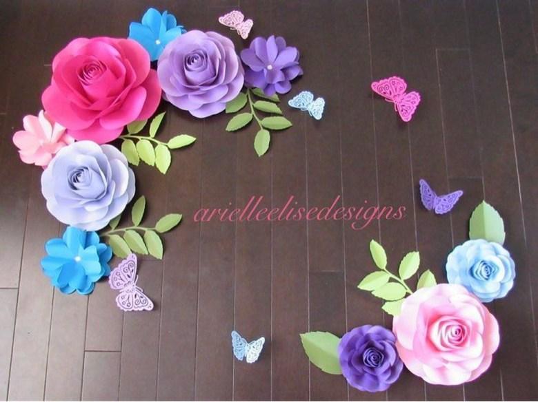 Gorgeous Fun Colorful Paper Decor Crafts Ideas17