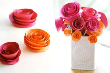 Gorgeous Fun Colorful Paper Decor Crafts Ideas19
