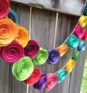 Gorgeous Fun Colorful Paper Decor Crafts Ideas21