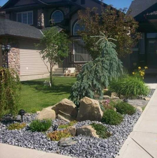 Impressive Front Yard Landscaping Garden Designs Ideas16