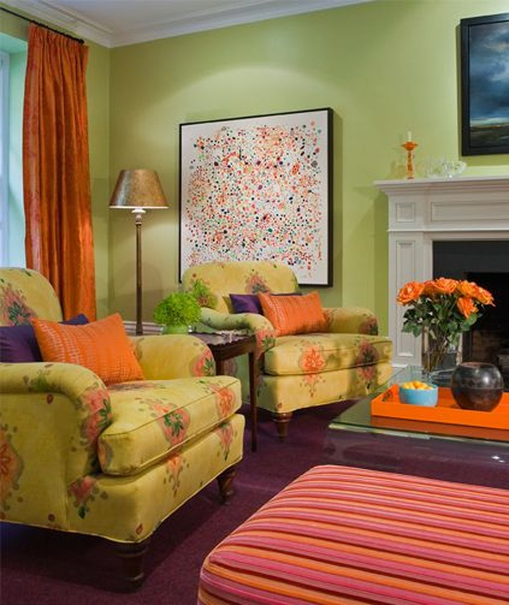Inspiring Living Room Color Schemes Ideas Will Make Space Beautiful28